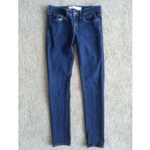 Abercrombie & Fitch Womens 26 Super Skinny Jeans